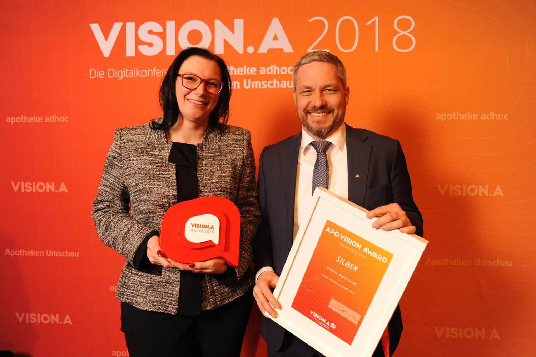 vimedi gewinnt VISION.A Award 2018