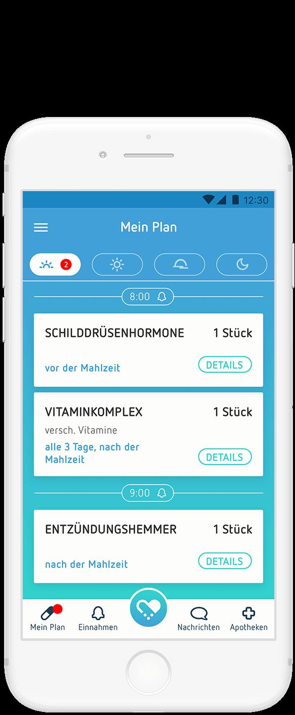 Digitalisiert Ihren *Medikationsplan*